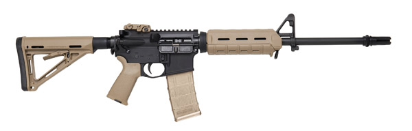 """DPMS AR-15 MOE Warrior SA 223 Rem 16"""" 30+1 Magpul MOE Stk FDE"""