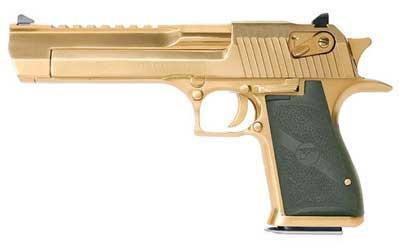 """Magnum Research Desert Eagle MK19 44MAG 6"""" Gold/Titanium"""