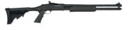 """Mossberg 500 Tactical Pump 20Ga 3"""" 18.5"""" Matte Black Finish, Collapsible Stock 3"""" 6Rd"""
