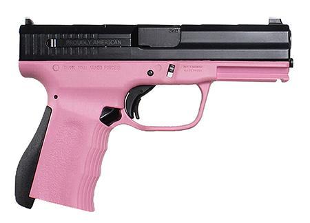 """FMK 9C2 Gen2 9mm 4"""" barrel Pink finish Fast action trigger 14 rounds"""
