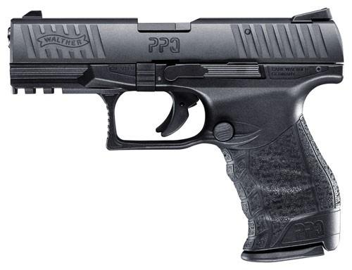 "Walther PPQ M2 .22 LR, 4"" Barrel, Black Finish, 12 Round"