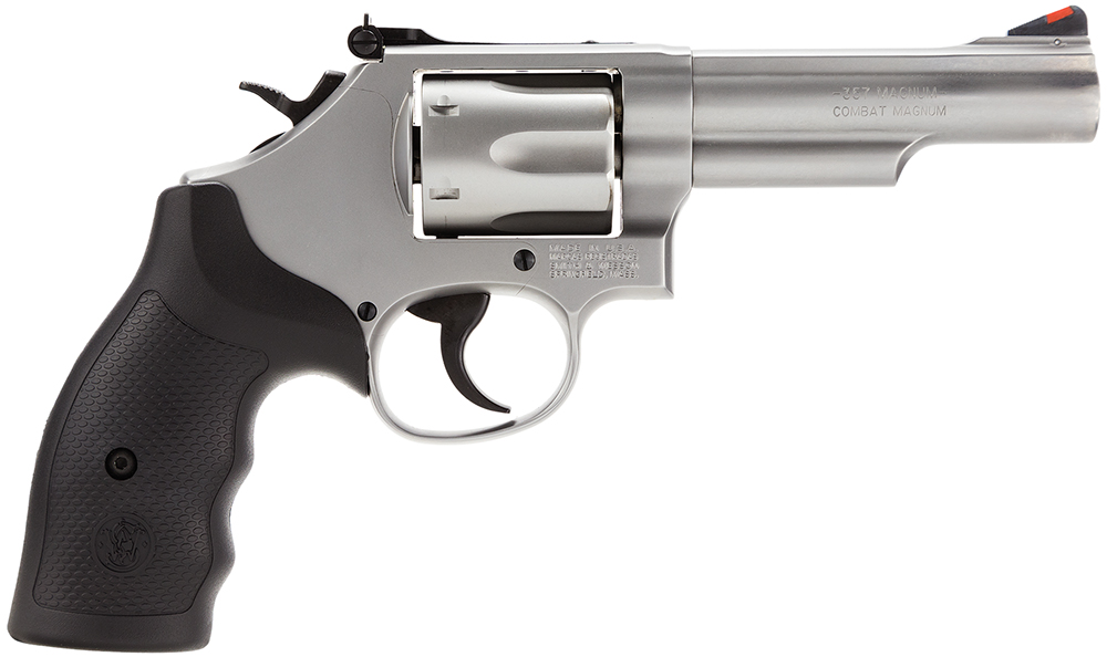 "Smith & Wesson 66 K-Frame DA/SA 357 Magnum 4.25"" 6rd Stainless Steel"