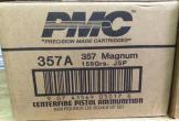 CASE PMC 357MAG 158GR JSP 1,000 ROUNDS