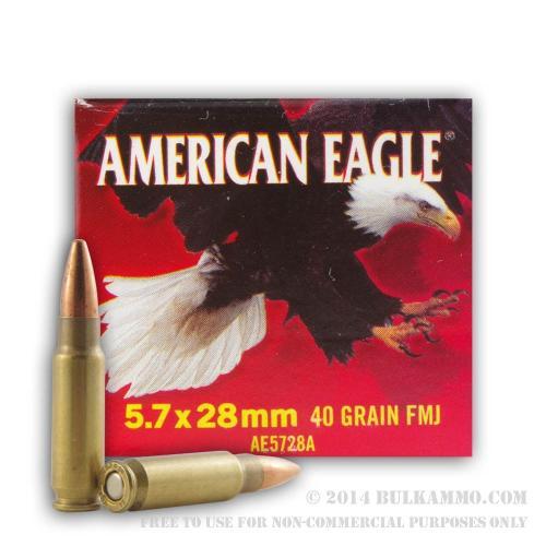 American Eagle 5.7x28mm 40 gr.