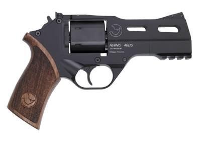 "Chiappa Rhino Revolver 357 Mag 4"" Steel Black Rubber 6Rd"