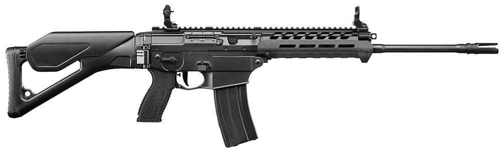 """Sig Sauer R556XI16BC Sig556xi Standard SA 223/5.56 16"""" 30+1 Fld Stk Black"""