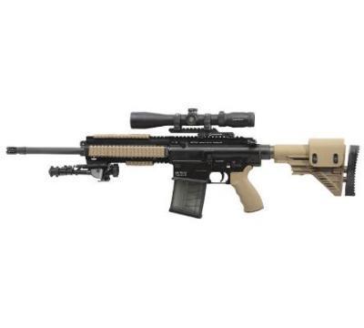 "Heckler & Koch MR762A1 Long Range Package, 7.62NATO, 16.5"" Barrel 10&20RD Mag"