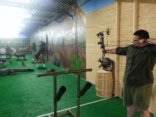 One Hour Archery Bow Range