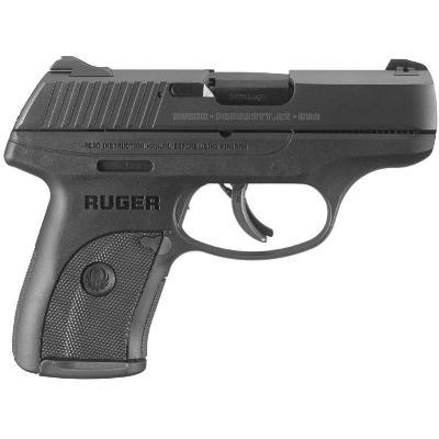 "Ruger 3235 LC9s Standard Double Action 9mm 3.1"" 7+1 Integral Grip Blued Steel"