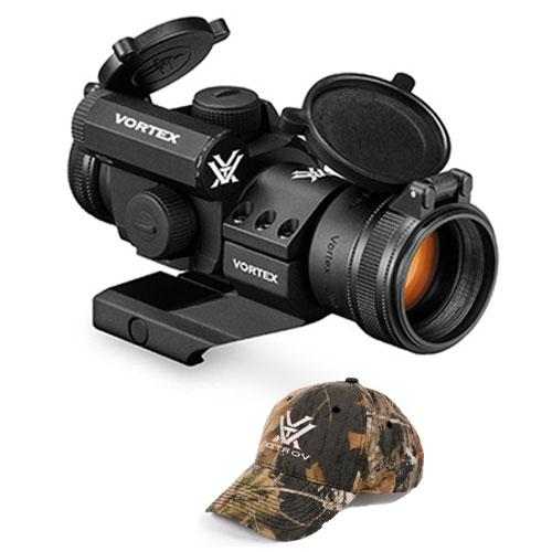 Vortex StrikeFire 2 Red / Green Dot Sight Scope/Cantilever Mount and FREE Vortex Hat