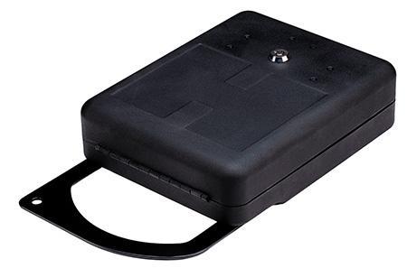 "Hornady 98151 ArmLock Handgun Safe with Steel Shackle 10.25""x8""x3"" Steel Black"