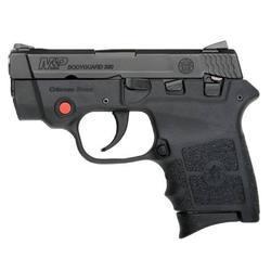 "S&W M&P Bodyguard Semi Auto Pistol .380 ACP 2.75"" Barrel 6 Rounds Crimson Trace Laser Polymer Frame Black 10048"