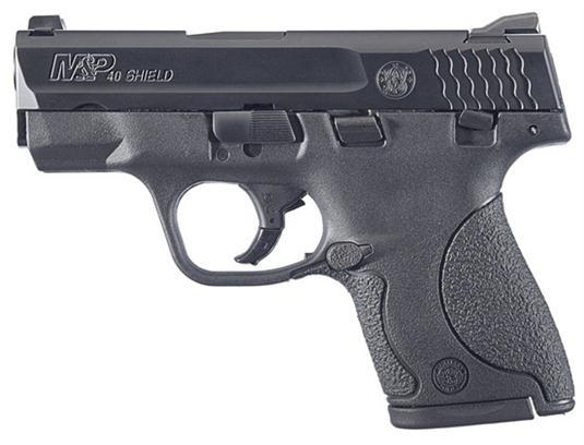 "Smith & Wesson M&P Shield 40 Smith & Wesson 3.1"" 6+1/7+1 Syn Grip Black"