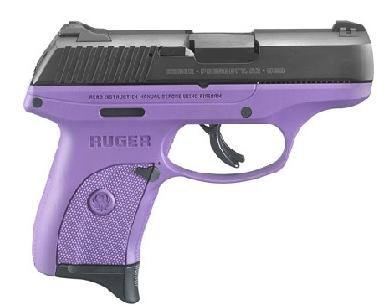 Ruger LC9 9MM LC9S-Purple Grip TALO Exclusive