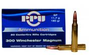 PPU PP 3.6 300 W 180gr SP20 Rounds
