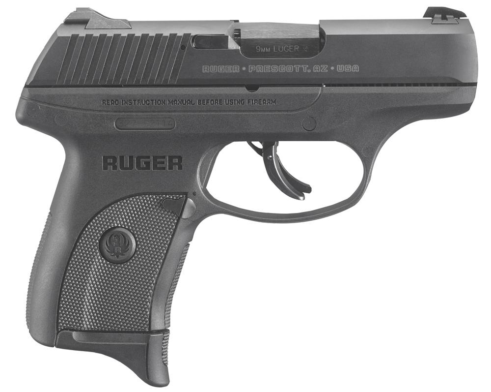 "Ruger LC9s Pro Double Action 9mm 3.1""7+1 Intergal Grip Black"