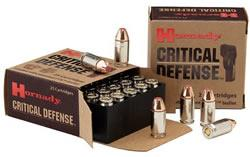 Hornady 38 SPL+P 110 Grain Critical Defense Ammo 25 Round Box