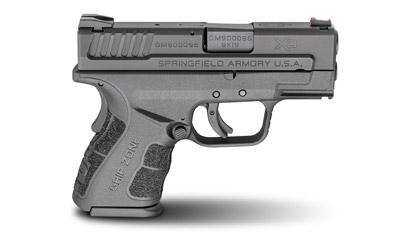 "Springfield XDG9801HCSP XD Mod.2 Sub-Cmpct 9mm DAO 3"" 13+1/16+1 Black Poly SS"