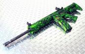 Hydrographics Complete Package AR MSR - One Film Stock, Pistol Grip, Upper, Lower, Rail