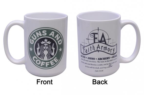 Faith Armory, Guns & Coffee Mug