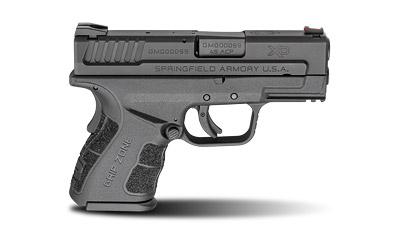 "Springfield XD-Mod.2, 45 ACP, 3.3"" Barrel, Polymer Frame, Black Finish, Fixed Sights, 2 Magazines, 13Rd, Belt Holster, Double Magazine Pouch, Magazine Loader, Lock, Fired Case, XDG9845BHCSP"