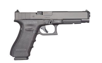 "Glock, 34, Modular Optic System, Semi-automatic Pistol, 9MM, 5.32"" Barrel, Polymer Frame, Matte Finish, 10Rd"