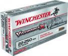 Winchester X22250PXL Varmint X 55 Gr Polymer Tip