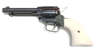 "G-1171, Heritage RR22MB4W Rough Rider 22LR/22 Mag 4.75"" 6rd White Grip, Blued"