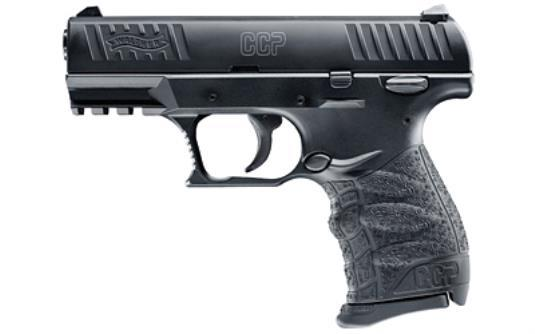 """Walther CCP 9mm 3.54"""" Black 8 Rd"""