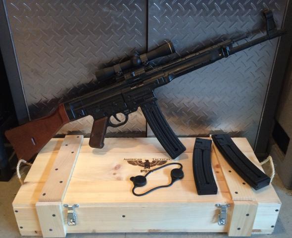 PKG DEAL...American Tactical GSG STG-44 Carbine .22LR 25 Round
