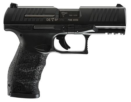 "Walther PPQ M2, Semi-automatic Pistol, Full Size, 45 ACP, 4.25"" Barrel, Polymer Frame, Black Finish, Fixed Sights, 12Rd, 2 Magazines 2807076"