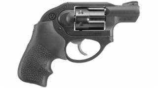 """Ruger, LCR, Double-Action Revolver, 327 Fed Mag, 1.875"""" Stainless Steel Barrel, Matte Black Finish, Hogue Tamer Monogrip Grip, U-Notch Integral Rear & Ramp Front Sight, 6Rd"""