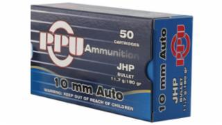 PPU 10MM 180GR JHP 50/BOX