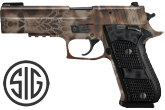 "Sig 220R510HPSAO P220-10 Match Elite Kryptek SAO 10mm 5.0"" 8+1 Blk Grip Banshee"