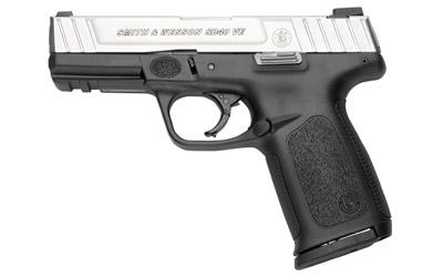 """Smith & Wesson Model SD40VE, Double Action Only, Full Size, 40 S&W, 4"""" Barrel, Polymer Frame, Duo Tone Finish, Fixed Sights, 14Rd, 2 Magazines 223400"""