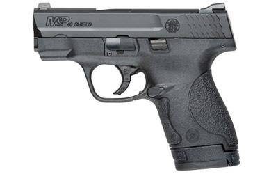 """Smith & Wesson M&P Shield, Double Action Only, Compact Pistol, 40S&W, 3.125"""" Barrel, Polymer Frame, Blue Finish, 3 Dot Sights, 6Rd & 7Rd, No Manual Safety, 2 Mags 10034"""
