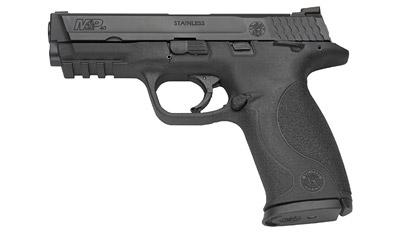 """Smith & Wesson M&P, Full Size, 9MM, 4.25"""" Barrel, Polymer Frame,Blue Finish, Low Profile Carry Sights, 17Rd, 2 Magazines, No Internal Lock 209301"""