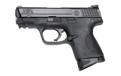 "G-759, Smith & Wesson M&P, Compact, 9MM, 3.5"" Barrel, Polymer Frame, Black Finish, Low Profile Carry Sights, 12Rd, 2 Magazines 209304"