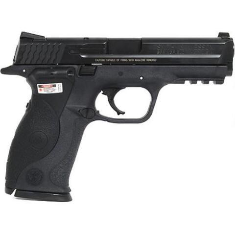 "Smith & Wesson M&P, Full Size, 40 S&W, 4.25"" Barrel, Polymer Frame, Blue Finish, Crimson Trace Lasergrips, Low Profile Carry Sights, 15Rd, 2 Magazines 220071"