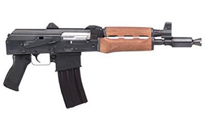 "Century Arms M85NP 5.56 NATO 10"" Barrel 30 Round 2 Magazines Steel Black Accepts AR Magazines Adjustable Sights Semi Automatic Pistol"