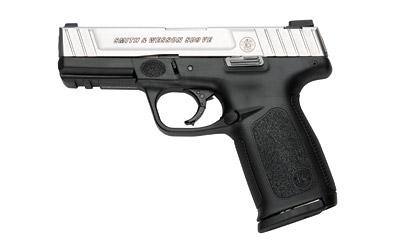 """Smith & Wesson Model SD9VE, Double Action Only, Full Size, 9 MM, 4"""" Barrel, Polymer Frame, Duo Tone Finish, Fixed S ights, 16Rd, 2 Magazines 223900"""
