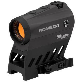 Sig Sauer Romeo 4, Sight, 1x20mm, Red Dot wiht Circle, 3 MOA, Fits 1913 Rail, Torx and QR Mounts included SOR41101