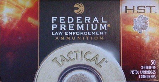 Federal HST 9mm 124gr +P LE P9HST3 (50 Rounds)