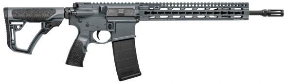 """Daniel Defense DDM4V11SLW, 14.5"""" Barrel, Grey Cerakote, Flash Hider, Flattop, 5.56mm"""