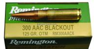 Remington 300 AAC Blackout 125Grain Premier Match