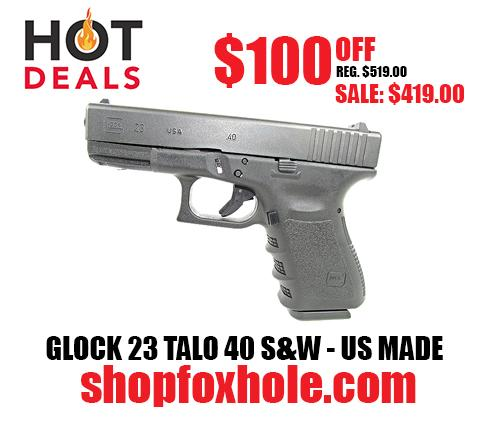GLOCK 23 TALO 40 S&W - US MADE