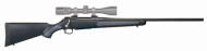"Venture Bolt Action Rifle .223 Rem 22"" Barrel Blued 4 Rounds Composite Stock with Traction Panels Black 5539"