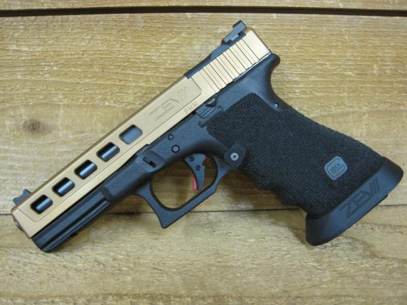 Glock 17 Gen3 ZEV Dragonfly conversion Bronze