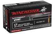 Winchester Ammo 17 WSM Ammunition Varmint HE, VMAX 25 Gr