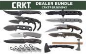 Columbia River Knife & Tool, CRKT Dealer Bundle: 2709 (1), 2384K (2), 5445 (1), 9085 (5), 2790 (1), 2852 (1), 2388 (2), 2720 (1), 2730 (1), M16-14SFG (1), M16-13T (1), 5471K (1)